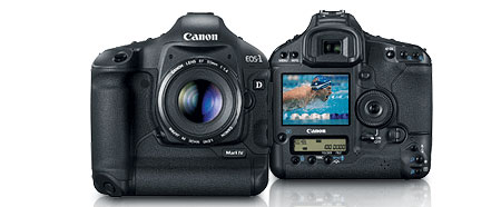 Canon EOS 1D Mark IV 16.1 MP CMOS Digital SLR Camera with 3-Inch